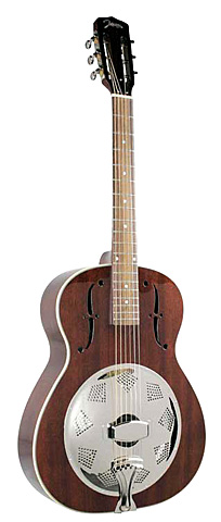 Single cone resonator gitaar