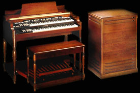Hammond B3 orgel met Leslie box