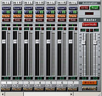 Virtuele (software) mixer