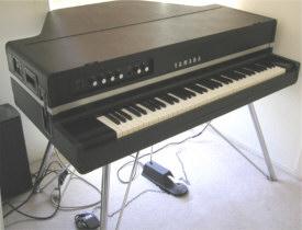 Geschiedenis van toetseninstrumenten for Electric grand piano yamaha